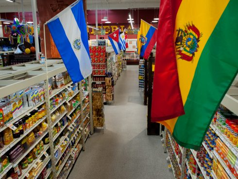 international grocery aisle