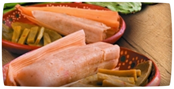 Cactus and Chicken Tamales