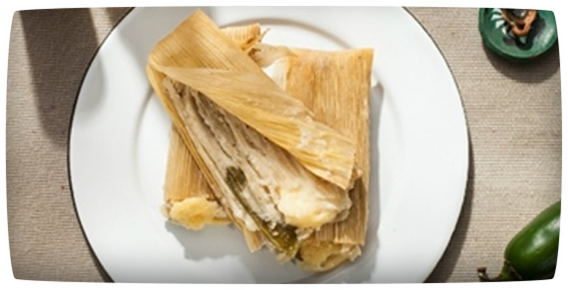 Chile & Cheese Tamales